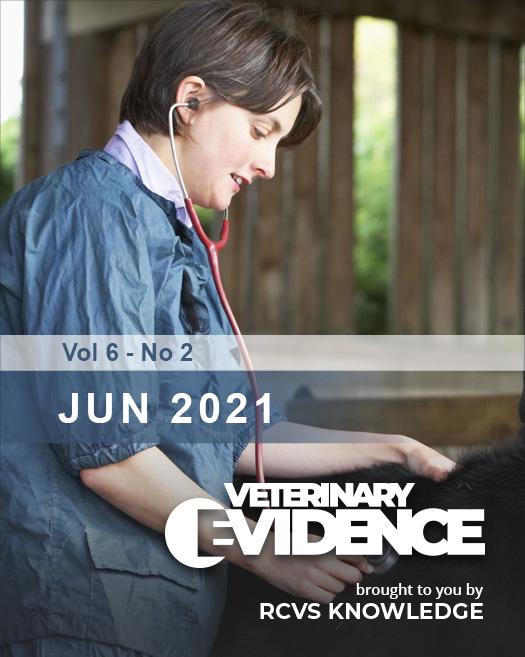 Veterinary Evidence Volume 6 Issue 2 2021