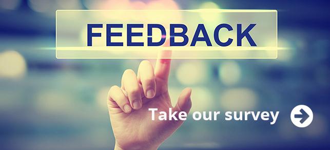 hand providing feedback
