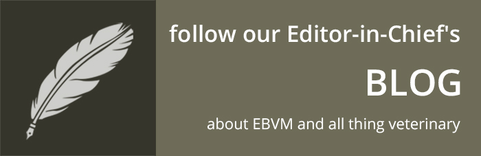 Editor-in-Chief Blog